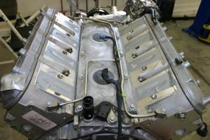 LS engine valley plate