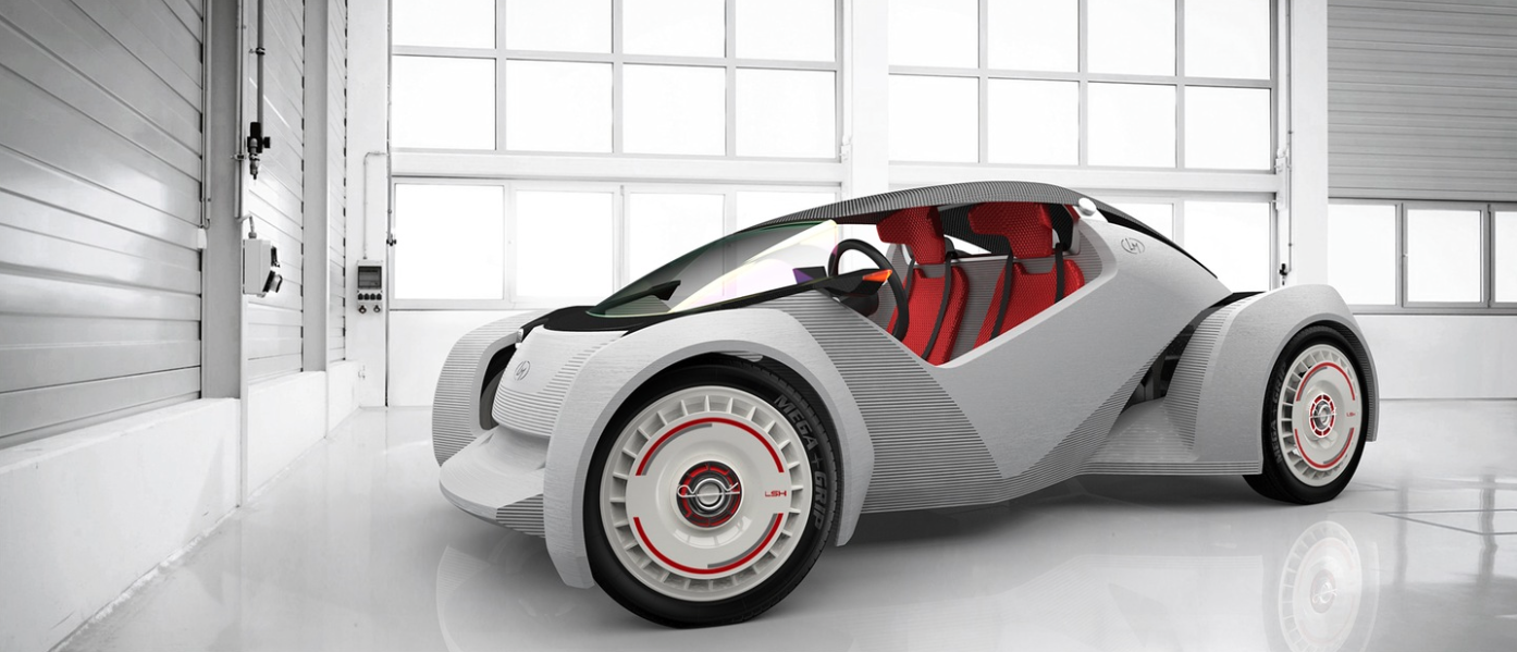 The Worlds First 3D Printed Car