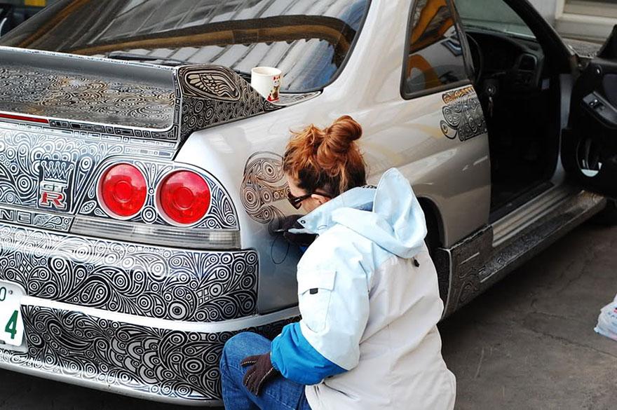 R33 GTR Sharpie
