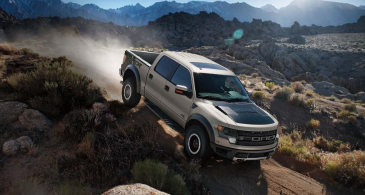 ford raptor off road