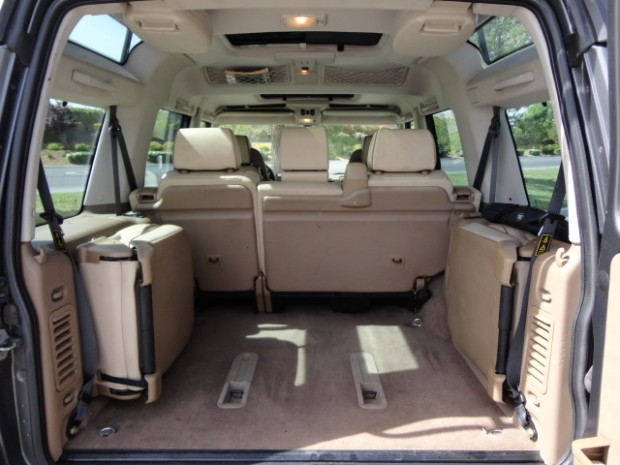 Discovery II jumper seats