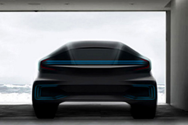 Faraday Future concept vehicle