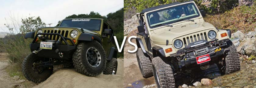 TJ vs JK: Which One is Better and Why?