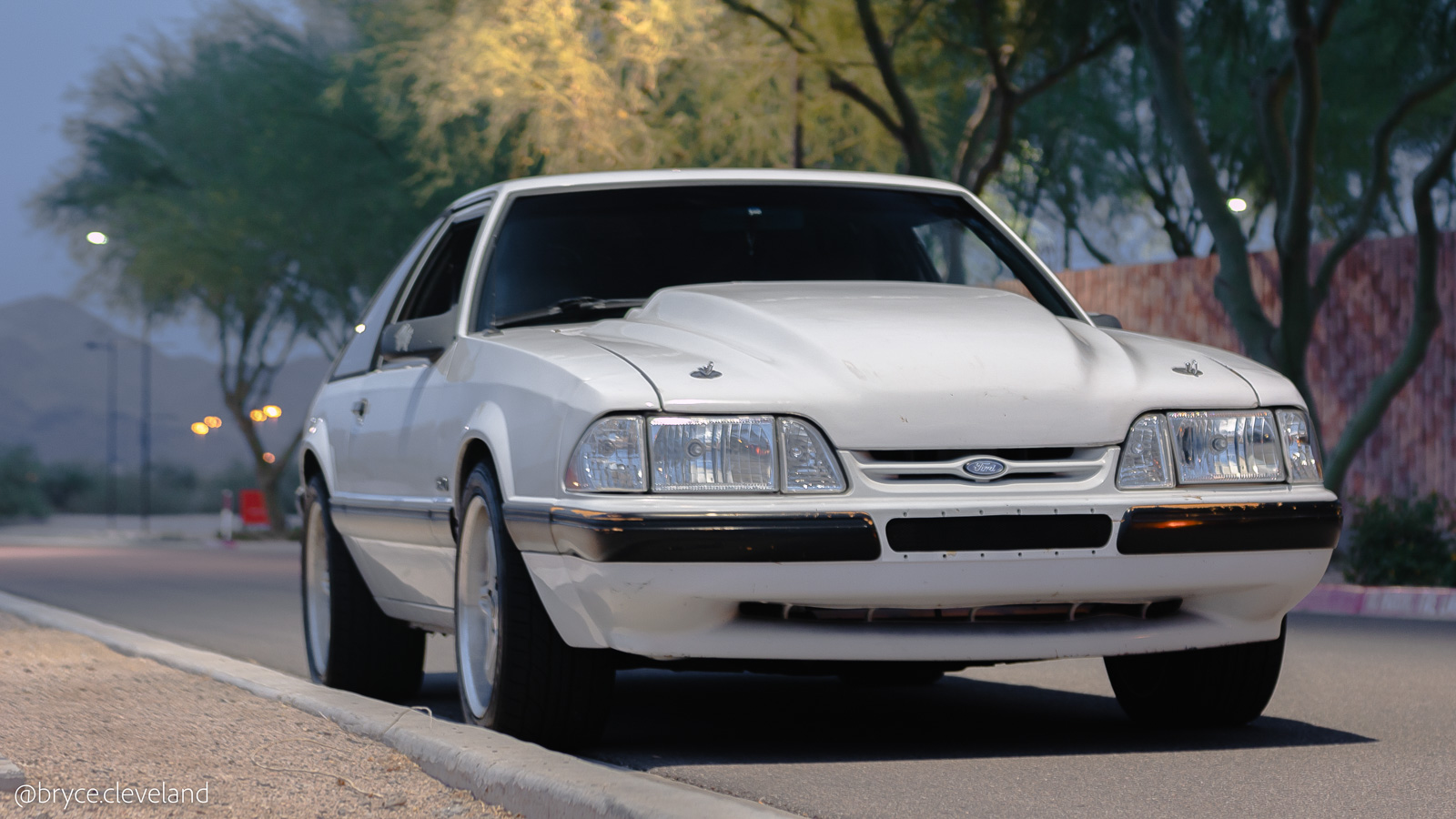 Well you can literally do anything you want to a fox body since mustangs from 1979 to 2004 are almost identical under