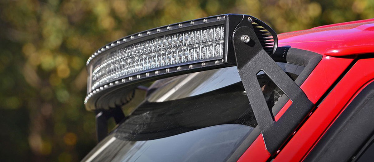 2018 best xj cherokee led light bars for sale one of the worst things you can do when installing a light bar on your roof is to use the brackets it comes with the brackets that are included with your aloadofball Gallery