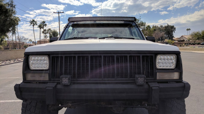 2018 best xj cherokee led light bars for sale aloadofball Images